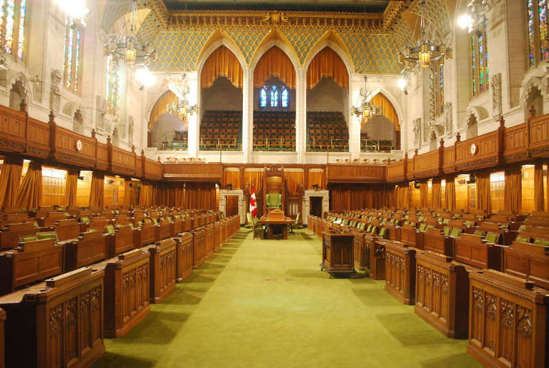 Canadian House of Commons, Ottawa
