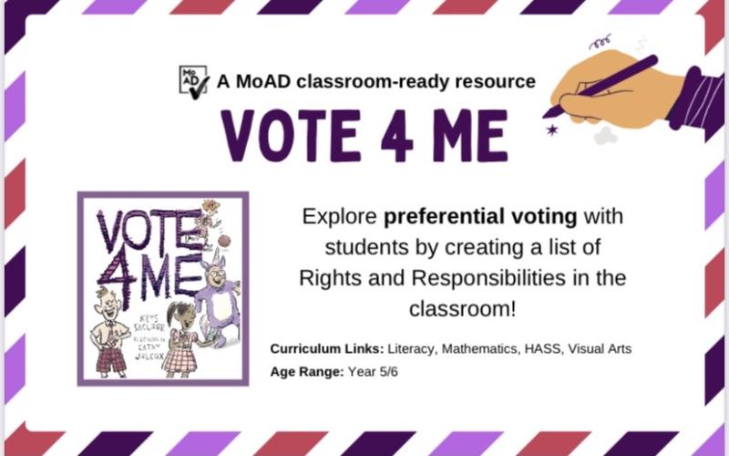 Vote for Me book