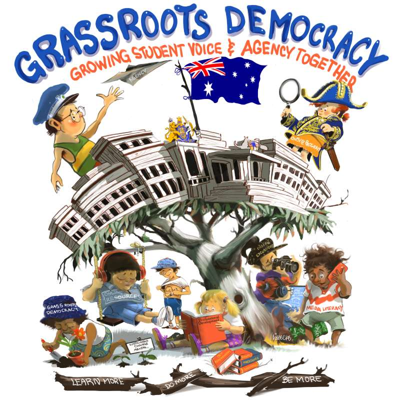 Grassroots Democracy poster