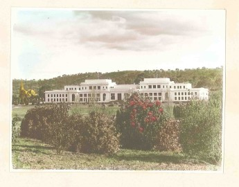 Old Parliament House during the 1940s.