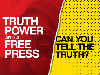 Truth Power and Free Press Image