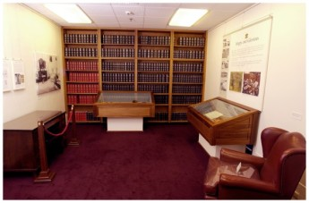 The former Queen's Room. Museum of Australian Democracy Collection
