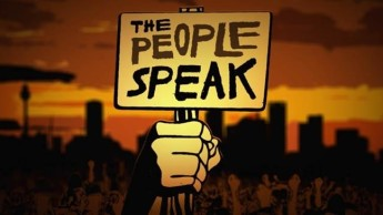 "From 26 November until 2 December the museum will be hosting a special History Channel film preview—a new documentary, ""The People Speak"", which has the intriguing tagline ""Democracy is not a spectator sport""."