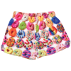 Picture of Assorted Donuts Plush Shorts