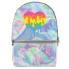 Picture of Dripping Heart Holographic Backpack