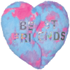 Picture of Heart BFF Furry Pillow