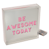 Picture of Be Awesome Acrylic Light Box