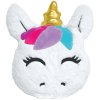 Picture of Gold Horn Unicorn Scented  Furry Pillow