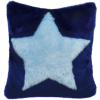 Picture of Blue Star Furry PIllow