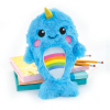 Picture of Rainbow Narwhal Furry Pencil Case