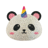 Picture of Pandacorn Rhinestone Decal Small