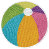 Picture of Beach Ball Embroidered Sticker Patch