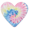 Picture of Pastel Tie Dye Heart Scented Microbead Pillow
