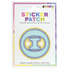 Picture of Theta Greek Letter Sticker Patch
