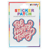 Picture of Be happy Today Embroidered Sticker Patch