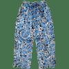 Picture of Blue Tie Dye Plush Pants