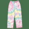 Picture of Swirl Tie Dye Plush Pants