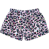 Picture of Pink Leopard Plush Shorts