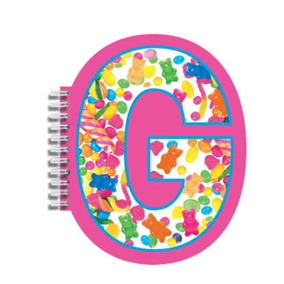 Picture of G Initial Notebook