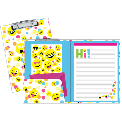 Picture of Confetti Emojis Clipboard Set