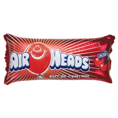Picture of Airheads Metallic Cherry Microbead Pillow