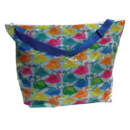 Picture of Colorful Flamingos Weekender Bag