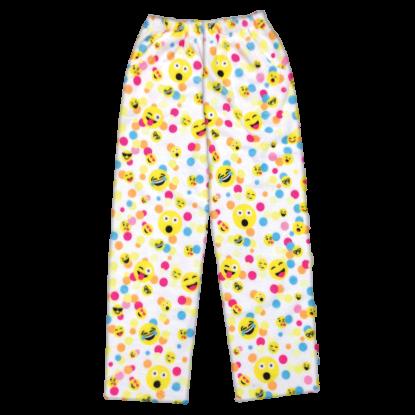Picture of Confetti Emojis Plush Pants