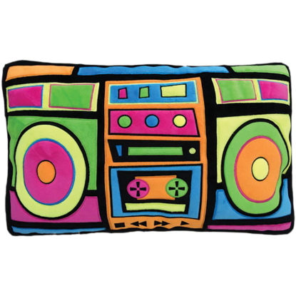 Picture of Boombox Embroidered Pillow