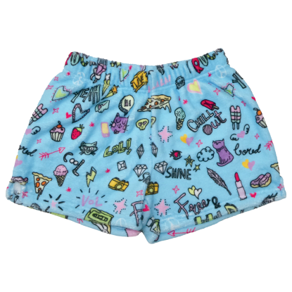 Picture of Doodles Plush Shorts