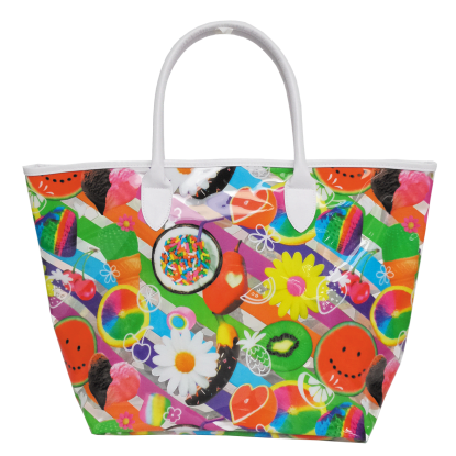 Picture of Tutti Fruiti Clear Tote Bag