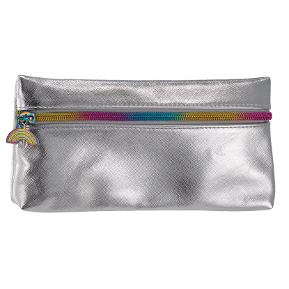 Picture of Silver Metallic Pencil Case