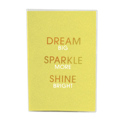Picture of Dream Glitter Metallic Journal