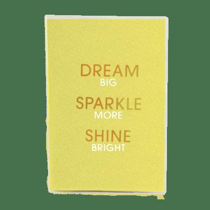 Picture of Dream Glitter Metallic Journal
