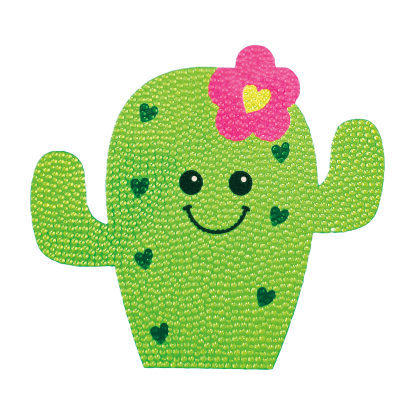Picture of Cactus Rhinestone Decals