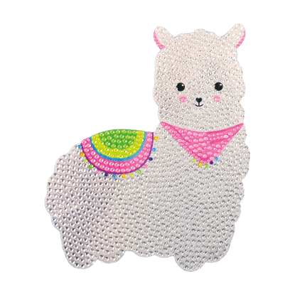 Picture of Llama Rhinestone Decals