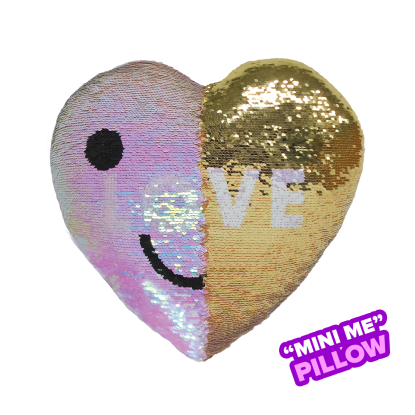 Picture of Mini Love Reversible Sequin Pillow