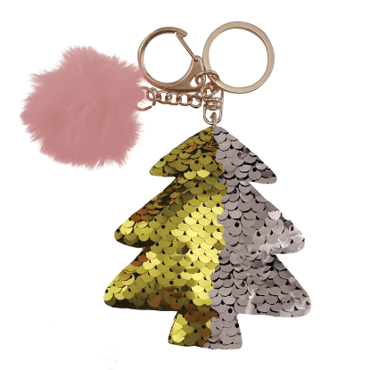 Picture of Gold Xmas Tree Clip