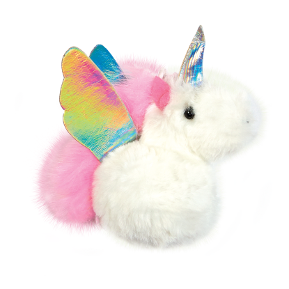 Picture of Unicorn Furry Pom-Pom Clip
