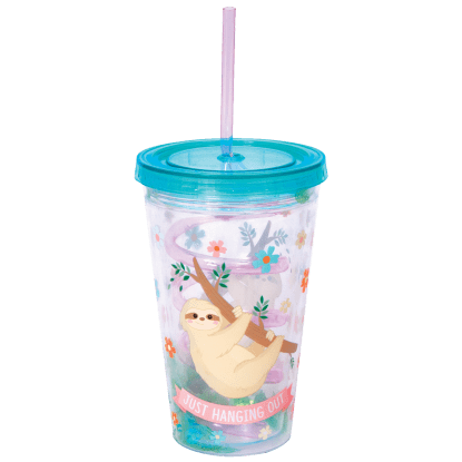 Picture of Sloth Cup with Straw