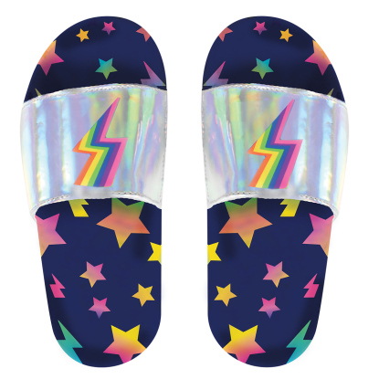 Picture of Stars and Lightning Holographic Slides