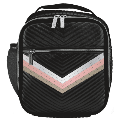 Picture of Black Chevron Lunch Tote