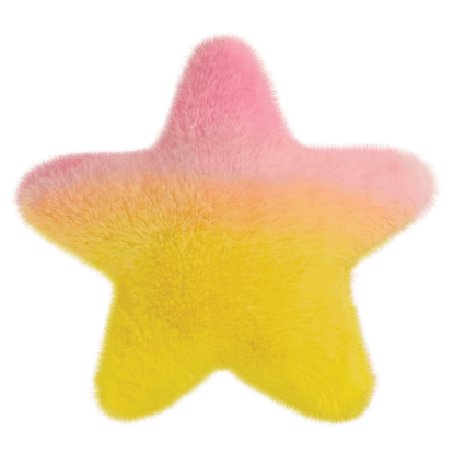 Picture of Star Scented Furry Pillow