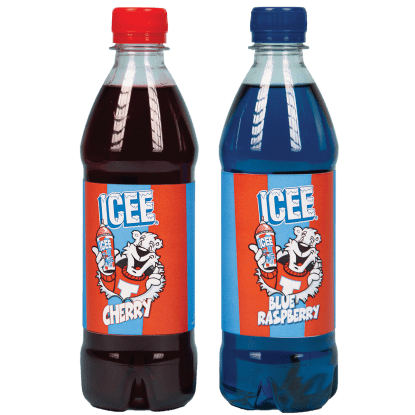 Picture of Icee Blue Raspberry and Cherry Syrup - 12 Pack
