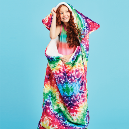 Picture of Rainbow Tie Dye Sleeping Bag