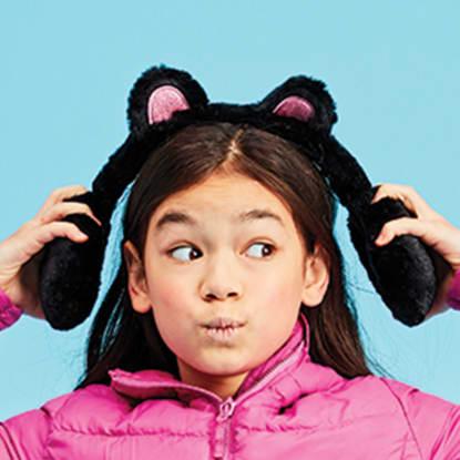 Picture of Panda Furry Earmuffs
