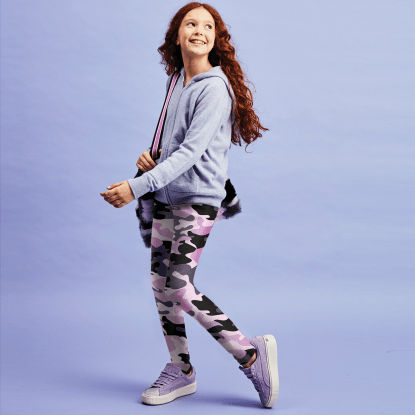 Picture of Purple Camo Leggings
