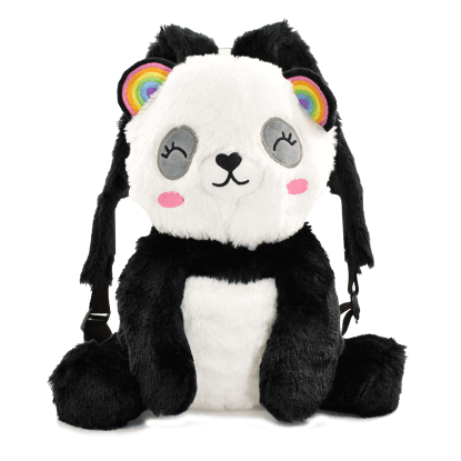 Picture of Panda Furry Backpack