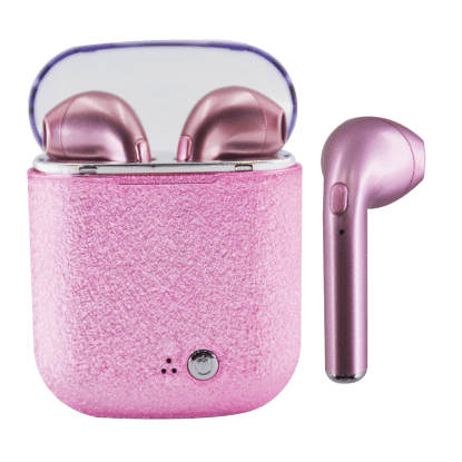 Picture of Pink Glitter Earbuds