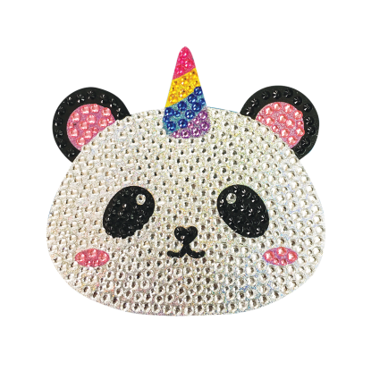 Picture of Pandacorn Rhinestone Decals Small