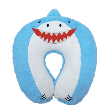 Picture of Shark Furry Neck PIllow